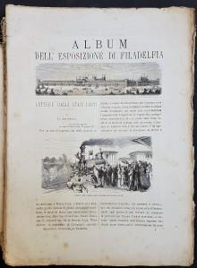 6ef9533b8d L'Esposizione di Parigi del 1878 illustrata. Volume Primo e Volume Secondo.  Milano, Sonzogno, 1878. 2 volumi, cm. 37, mezza pelle muta, pag.